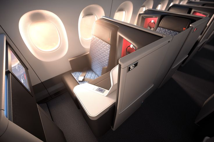 Heaven on a plane: The new business class will debut in September 2017.