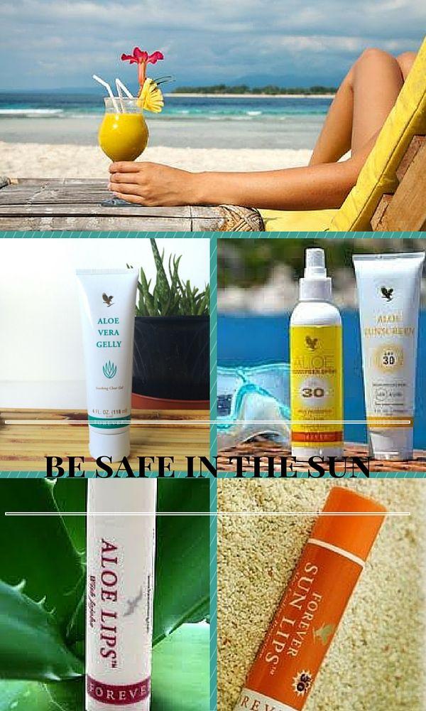 Aloe Vera har produkter til dig, når du er/har været i solen. Myaloevera.dk / vhs