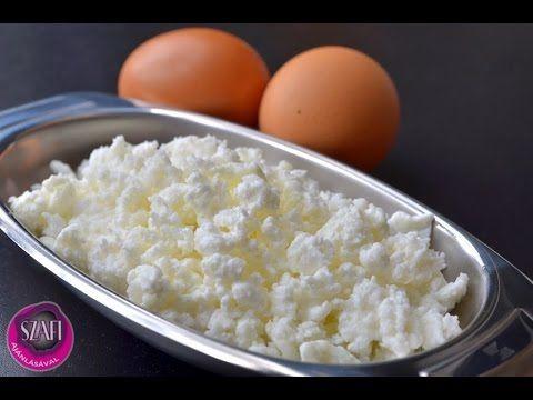 Totu (tojás túró, totu tejföl) készítése, Paleo madártej recept, Tojástej - Zsírtej recept videóval ~ Éhezésmentes Karcsúság Szafival