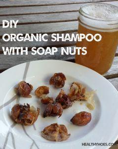 Alternative no-poo method. Use soap nut liquid as a DIY organic shampoo