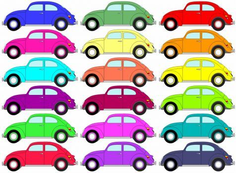 car jigsaw puzzle for kids (35 pieces)