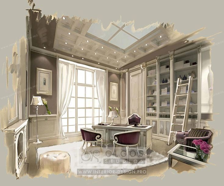 Interior Design for Study Room