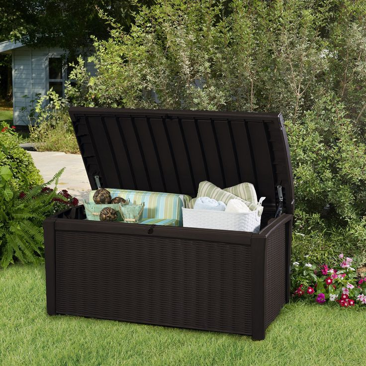 Outdoor Storage Bench Costco WoodWorking Projects Plans