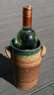 Pottery and Paint: Wine chiller