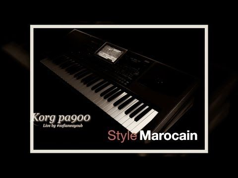 Korg pa900 Raï (medahatte) - Live - YouTube