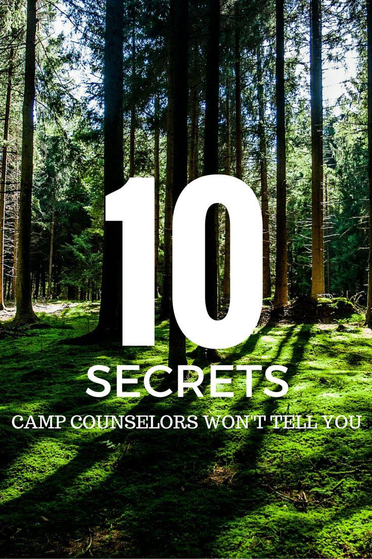 10 Secrets Camp Counselors Won't Tell You