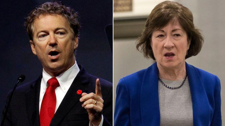 "2 key GOP senators express doubts about Senate health care bill Sens. Rand Paul and Susan Collins are interviewed on ""This Week.""  ------------------------------ #news #buzzvero #events #lastminute #reuters #cnn #abcnews #bbc #foxnews #localnews #nationalnews #worldnews #новости #newspaper #noticias"