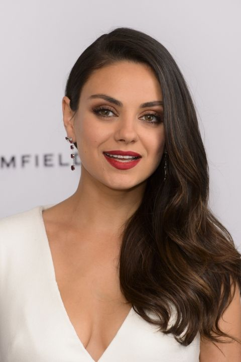 Mila Kunis Rocks A Side Swept Look At Gefields Ruby Launch Party, 2015