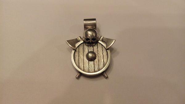 Кулон ЩИТ викинга оберег, ювелирные изделия, викинги, язычество, ювелирное дело, творчество, рукоделие, длиннопост