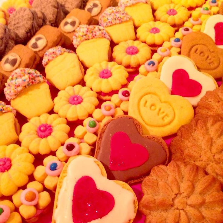 Assorted Biscuits made with love