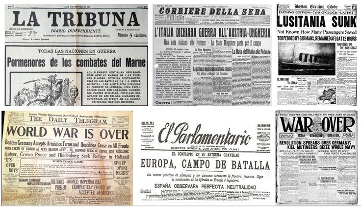 """Periódicos nacionales e internacionales de la época. Diarios como """"La Tribuna"""", """"El Parlamentario"""" o """"Corriere della sera"""" se hicieron eco del conflicto."""