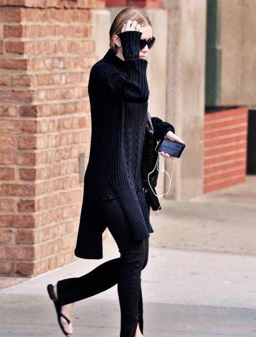 Ashley leaving a hotel in New York on October 5, 2016 (via olsensobsessive.com)