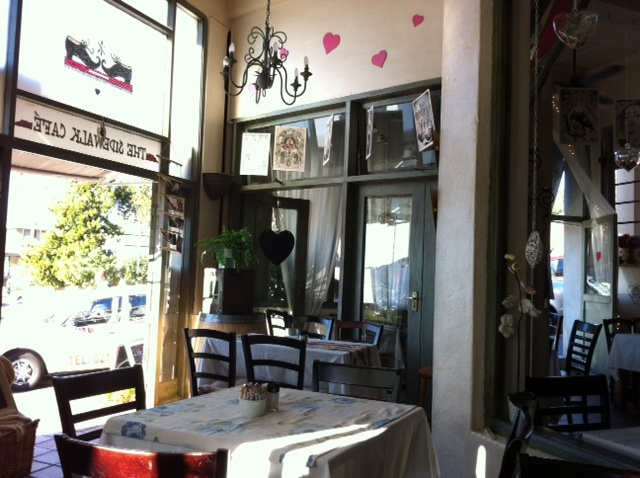 Sidewalk Cafe, an anytime Cape Town restaurant