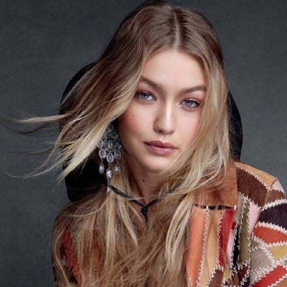 Bend it like Gigi ! Our #Fw17 #GlobalTribal #Pendantearrings in the December issue of @voguemagazine captured by the legendary @patrickdemarchelier on the effervescent @gigihadid styled by the one and only @tabithasimmons ! When superlatives are not enoug