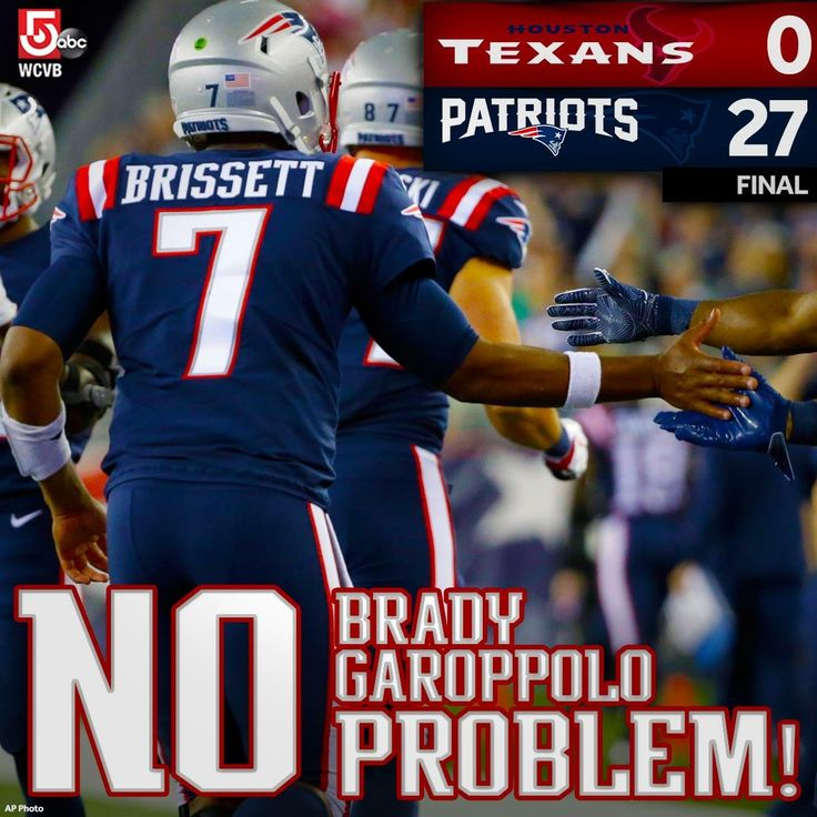 No Problem in New England! #Week3 #HOUvsNE #OntoBUF