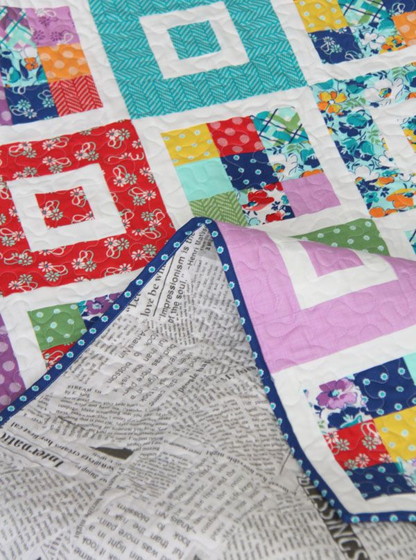 Shortcake Quilt, Jelly Roll Friendly - from Cluck Cluck Sew