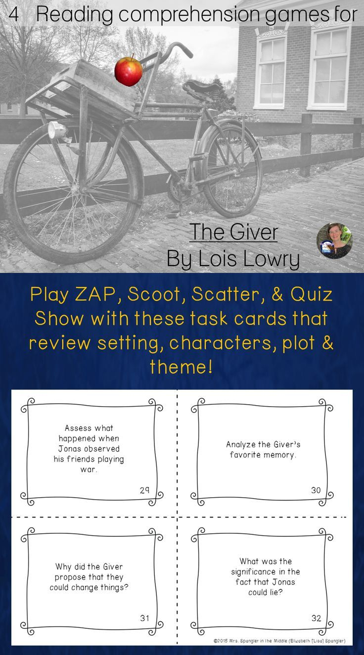 17 best ideas about the giver lois lowry book play zap scoot scatter and quiz show to review setting characters plot