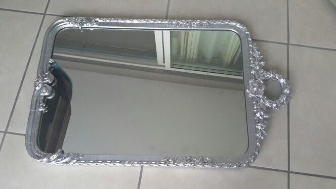 Foyer mirror after