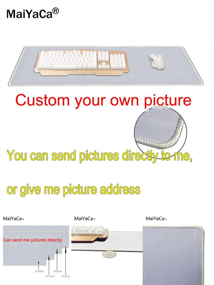 [Visit to Buy] Super Big Deal Diy Personalized Custom Your Cool Image Photo Printed Gamer Gaming Rectangle Mouse Pad PC Computer Rubber Mat #Advertisement