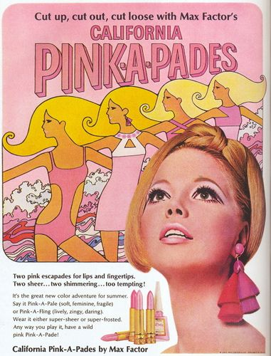 """Max Factor"" ad, 1967 by revista_antiga, via Flickr"