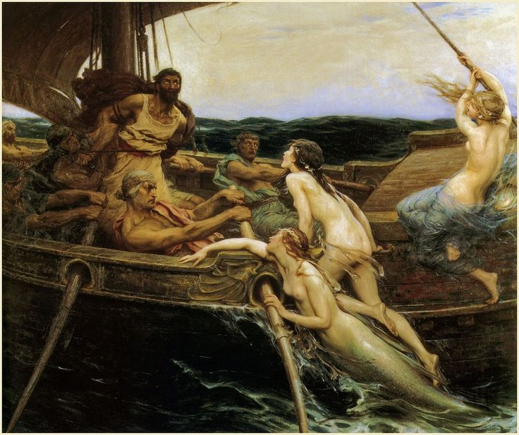 Ulysses and the Sirens,1909 H.J.Draper