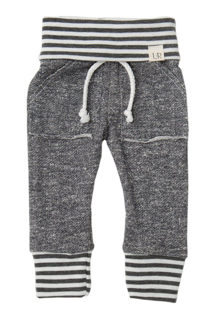 Created for hip modern kids and babies alike. Our pants are specially designed with a stretchy fold over waistband to ensure ultimate comfortability and stretch