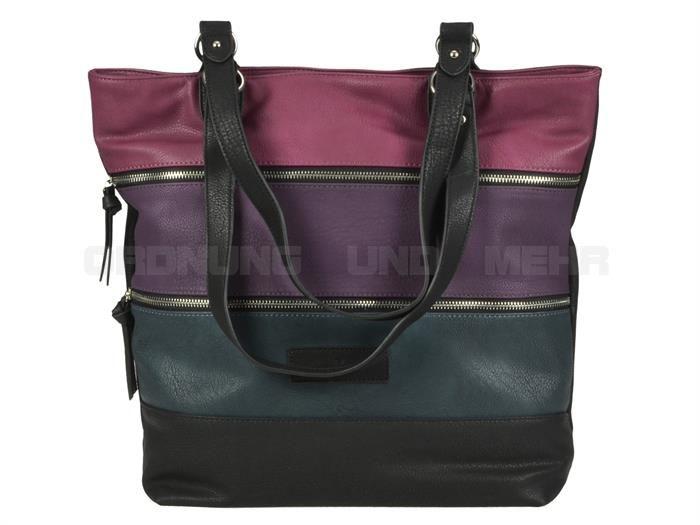 Tom Tailor CAROL - Lederimitat Shopper Schultertasche Handtasche - 2 Farben
