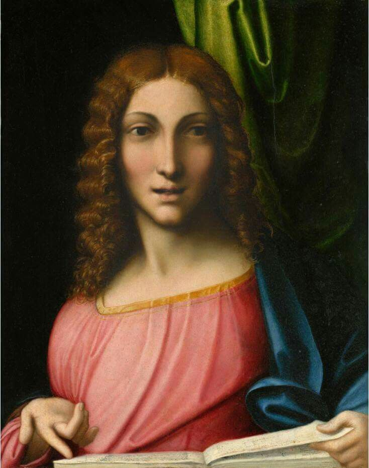 Cristo giovane nel tempio. 1513. NGA Washington