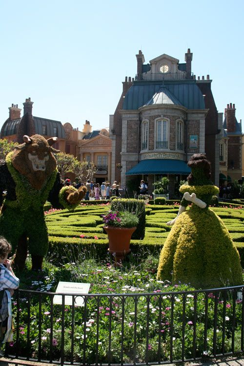 I loved the International Flower & Garden Festival at the DisneyWorld.