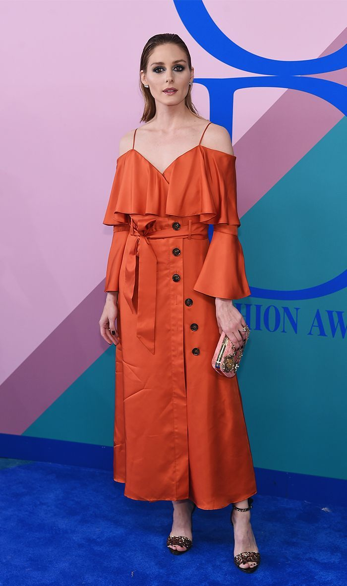 Olivia Palermo Just Wore a $148 Banana Republic Dress on the Red Carpet via @WhoWhatWear