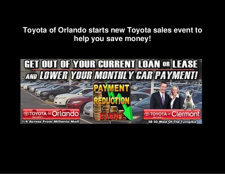 Check out our new Toyota sales event at Toyota of Orlando! You can find some incredible savings on our new Toyota and used cars in Orlando!