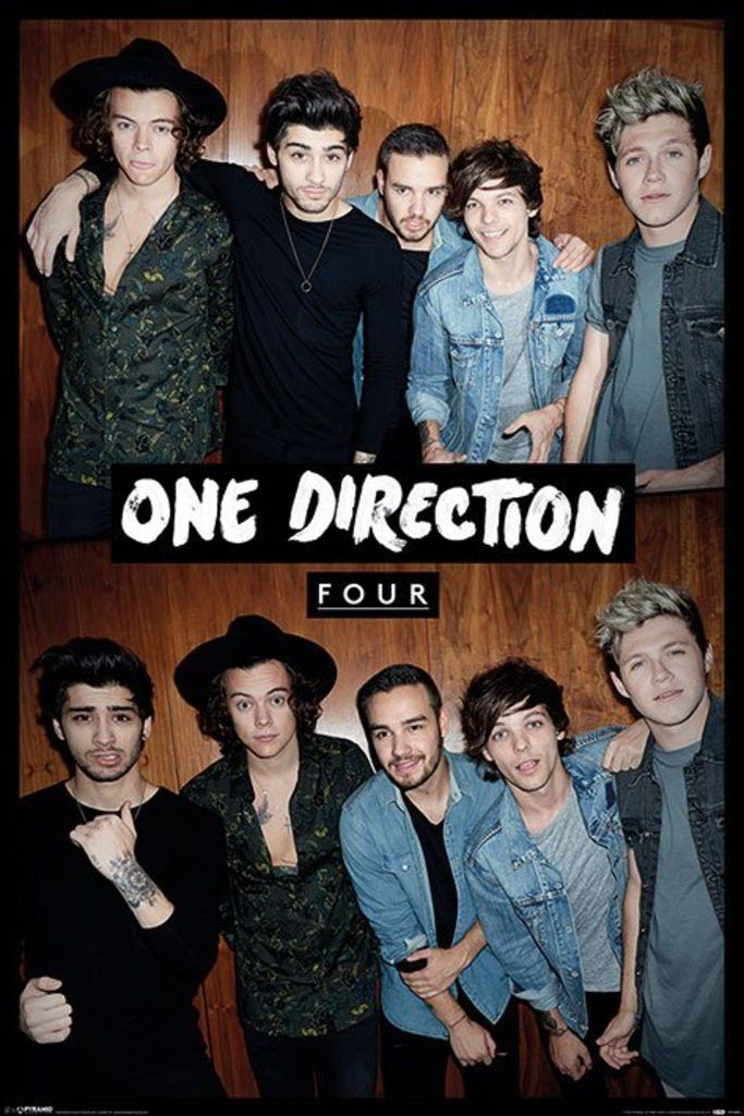 One Direction - Four - Split - Official Poster. Official Merchandise. Size: 61cm x 91.5cm. FREE SHIPPING