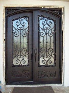 www.irondoorsnow.com - mediterranean - front doors - los angeles - Iron Doors Now