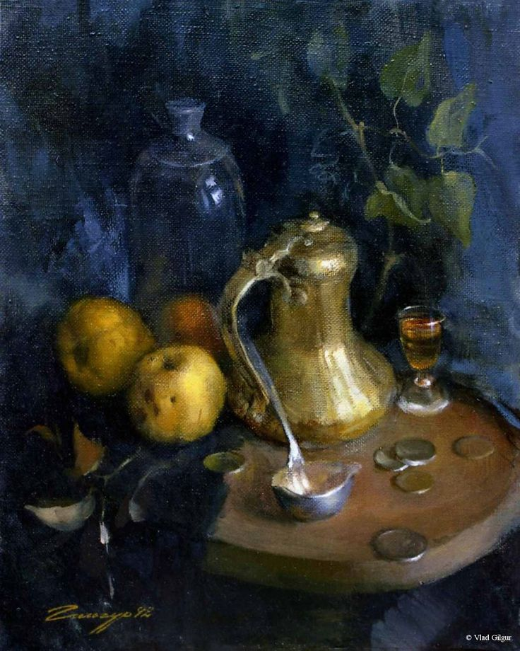 Quince and Coffee Pot