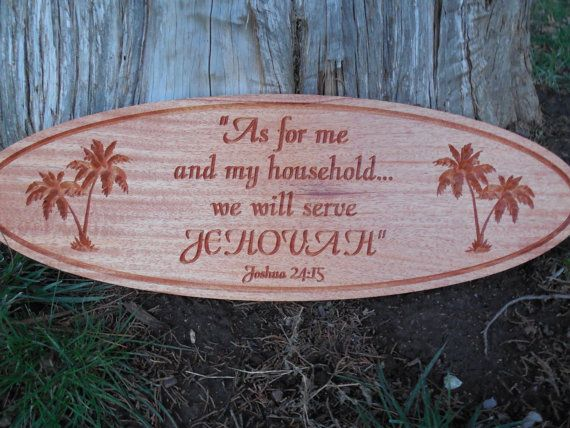 SALE Wood Sign JW Gifts Jehovah's Witnesses by TopGrainWoodShop