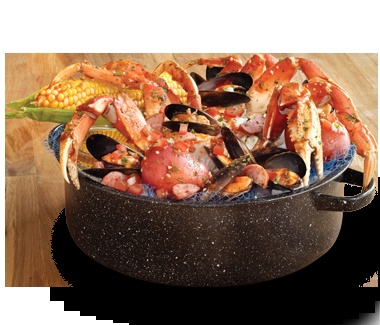 how to make steamed seafood pot