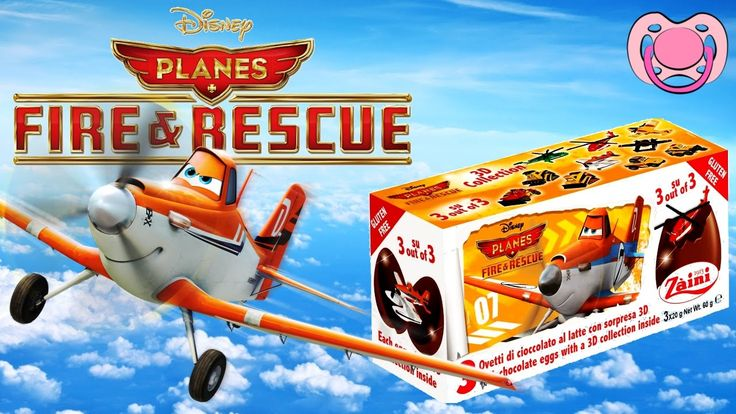 Ovo surpresa - Planes Fire Rescue