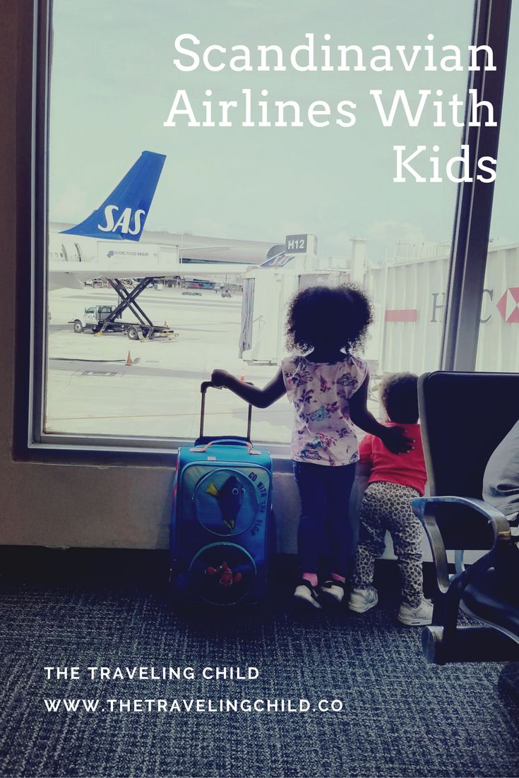 SAS Airlines Review, Scandinavian Airlines Review, Scandinavian Airlines with Kids