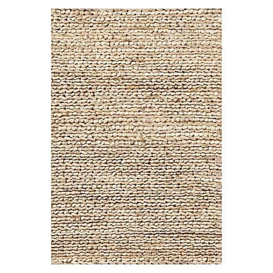 Exude an organic touch in your décor with the hard-wearing weave of the Natural Braided Designer Jute Rug from Dash & Albert.