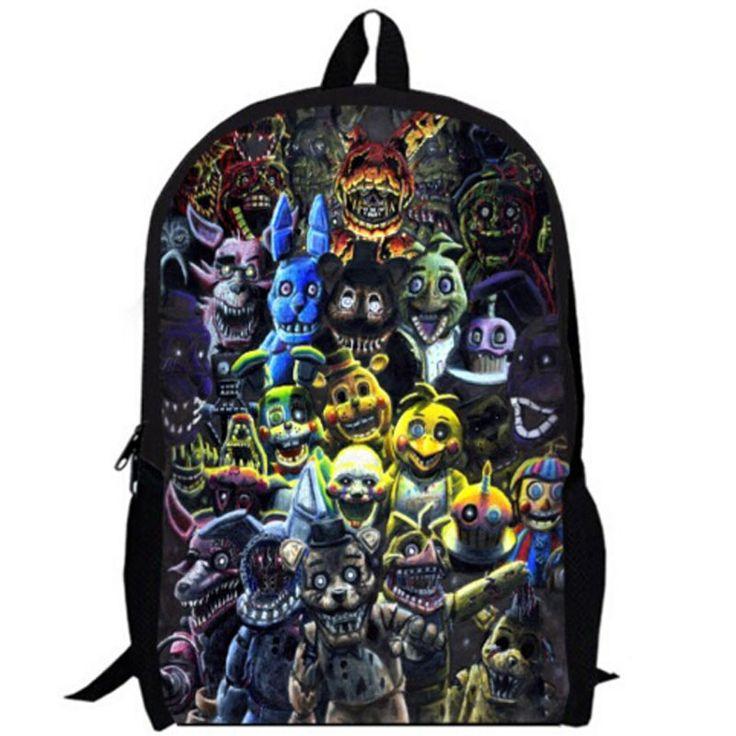 5 Five Nights at Freddy's Freddies Backpack School bag ...