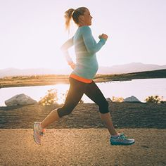 You don't have to stop running during your pregnancy