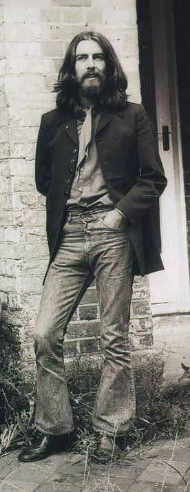 George Harrison - my favorite Beatle. Maybe cuz Harrison is my maiden name