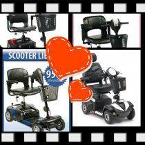 scooters electricos DESMONTABLES Discapacitados