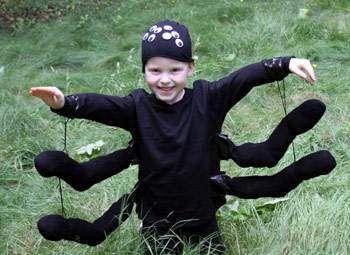 como hacer disfraces infantiles para halloween