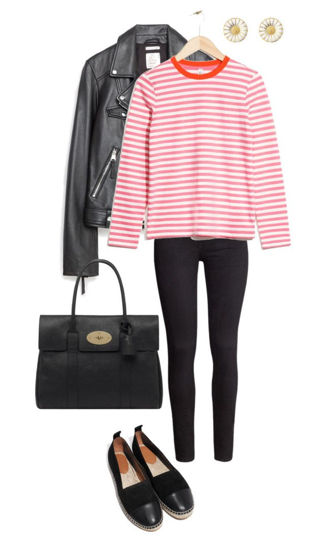Untitled #188 by juliegodsknielsen on Polyvore featuring Zara, H&M and Mulberry