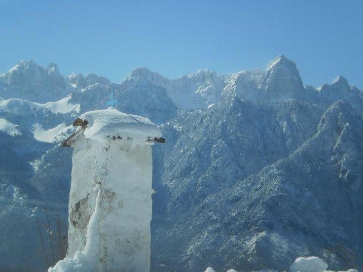 Γκαμήλα μια από τις υψηλότερες κορυφές της Τύμφης