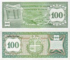 100 Florin Aruba's Banknote