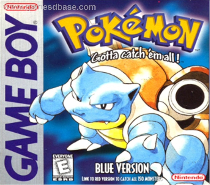 Pokemon Blue, cuz I was too cool for Red.