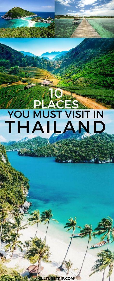 10 Places You Must Visit In Thailand|Pinterest: @theculturetrip
