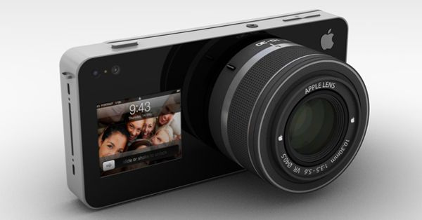 This is a concept by ADR Studio.  iCam attaches to the iPhone to enhance the functionality of its existing camera